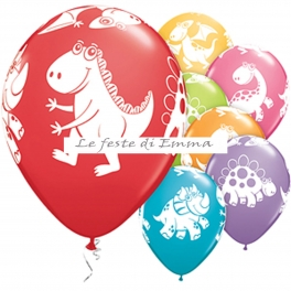6-palloncini-con-cuccioli-di-dinosauri