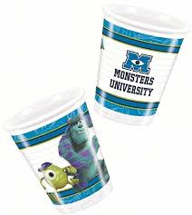 monsters university bicchiere