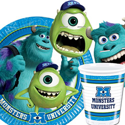 Monster University decorazioni