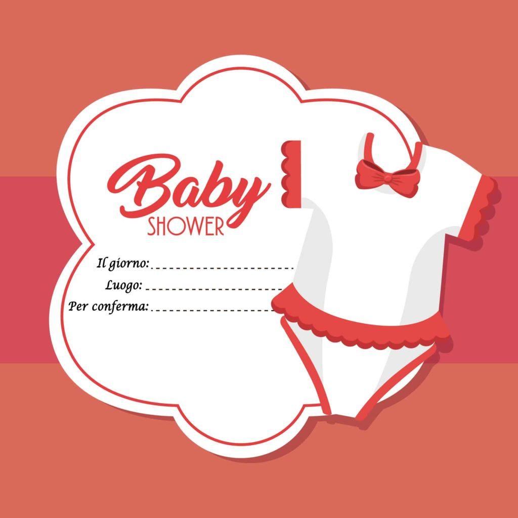 Inviti per baby shower da scaricare gratis, bambine e bambini