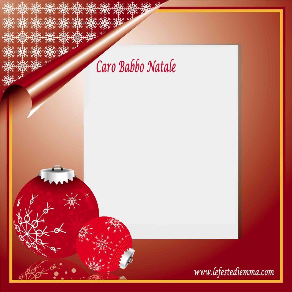 Letterine di natale, scrivere a Babbo Natale