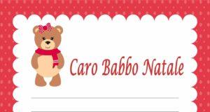 copertina Letterine di Natale, un simpatico orsetto per Babbo Natale