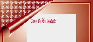 copertina Letterine di natale, scrivere a Babbo Natale